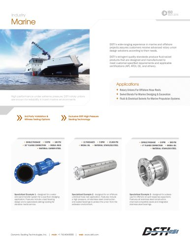 DSTI Sell Sheet - Marine & Offshore