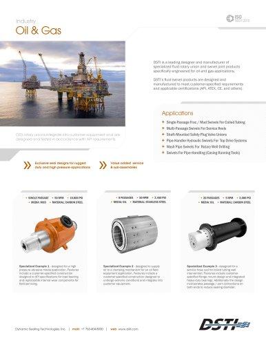 DSTI Sell Sheet - Oil & Gas