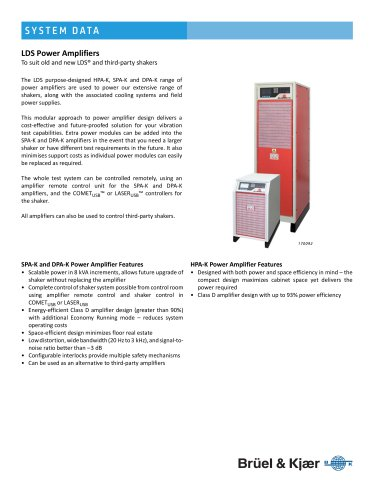 LDS Power Amplifiers