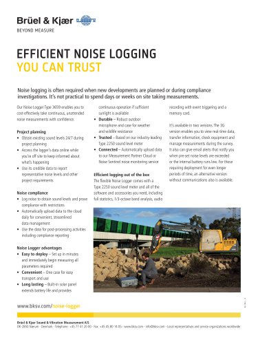 Noise Logger Type 3659