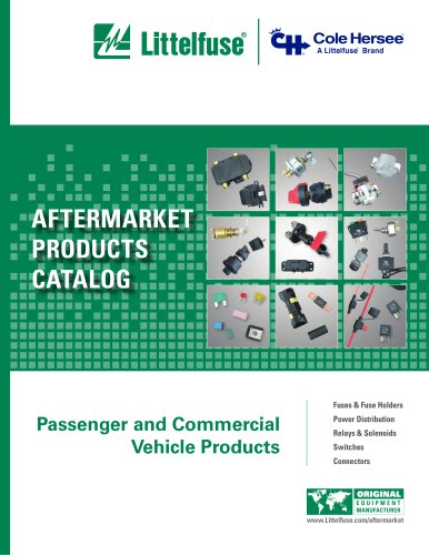 AFTERMARKET PRODUCTS CATALOG