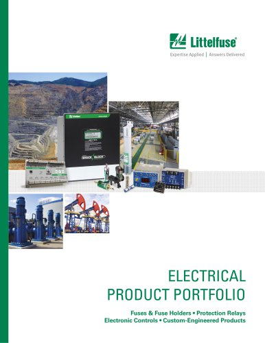 Electrical Product Portfolio Brochure