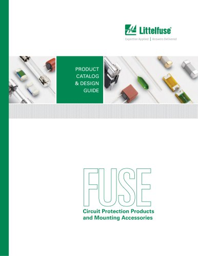 Electronic Fuse Products Catalog