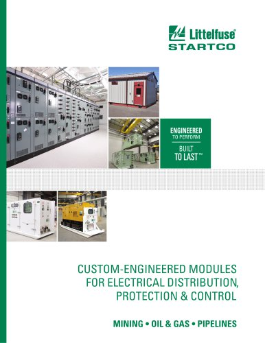Littelfuse Startco Custom-Engineered Products Brochure