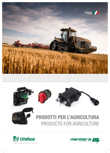 PRODUCTS FOR AGRICULTURE