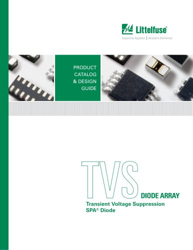 TVS Diode Array (SPA) Catalog