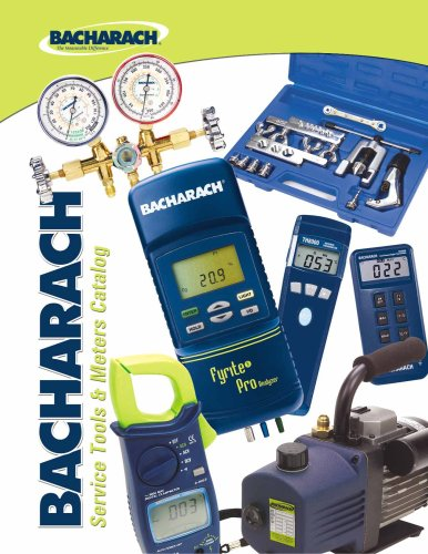 Air Conditioning and Refrigeration Service Tools & Meters Catalog