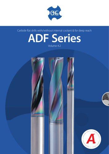 ADF-2D, ADFLS-2D & ADFO-3D CARBIDE FLAT DRILL VOL.4.2