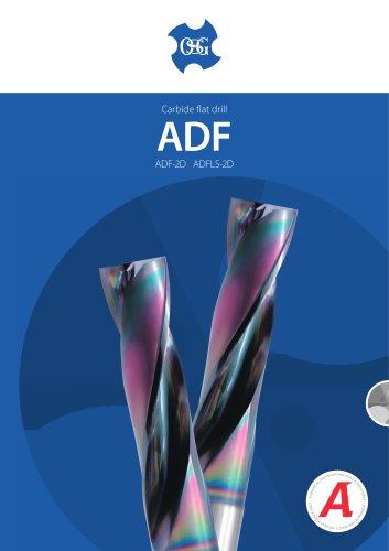 ADF Carbide Flat Drills
