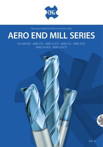 AERO Carbide End Mill Series for Aluminum Alloys