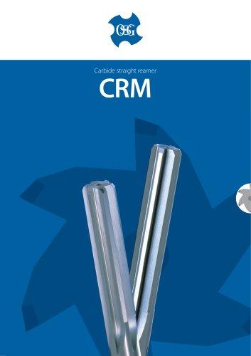CRM Carbide straight flute reamer