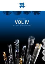 OSG Main Catalog IV Taps Drills Endmills Indexable
