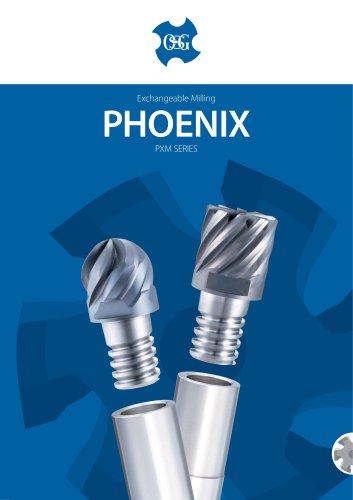 Phoenix Exchangeable Head Milling Series PXM