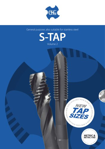S-Tap Cutting Taps for General Application