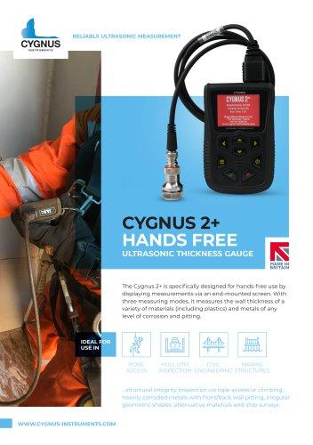 Cygnus 2+ Hands Free Ultrasonic Thickness Gauge