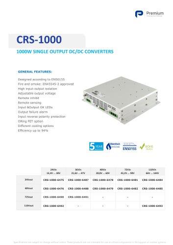 CRS-1000