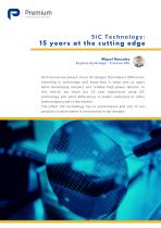 SiC Technology : 15 years at the cutting edge - 1