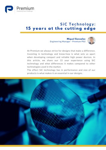SiC Technology : 15 years at the cutting edge