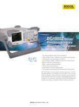DG1000Z Series Datasheet