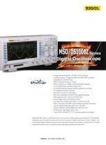 MSO/DS1000Z Data Sheet