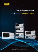 Test & Measurement Product Catalog