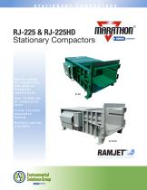 RJ-225 and RJ225HD Stationary Compactors Brochure