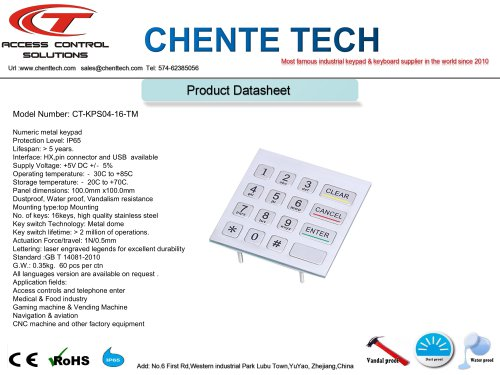 CT-KPS04-16-RM
