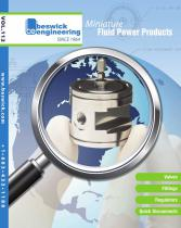 2014 Catalog of Miniature Fluid Power Components