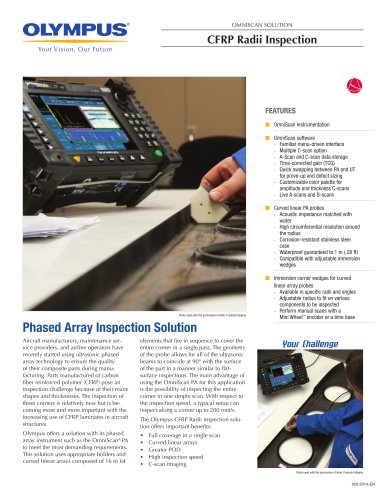 CFRP Radii Inspection Solution