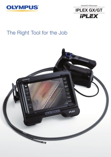 IPLEX GX/GT Industrial Videoscopes
