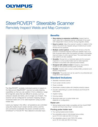 SteerROVER™ Steerable Scanner