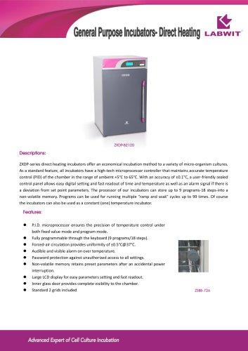 General Purpose Incubators- Direct Heating
