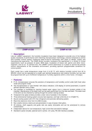 Humidity Incubator