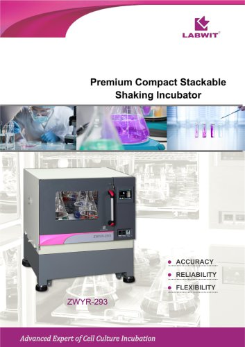 Premium Compact Stackable Shaking Incubator V2020