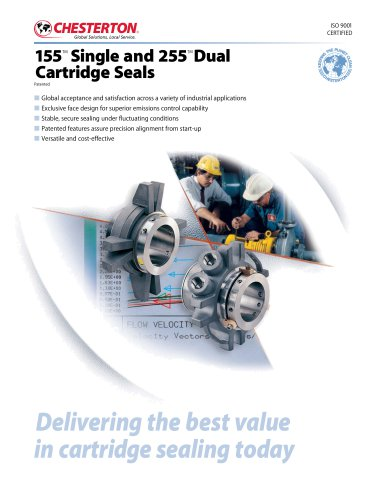 chesterton 155 single and 255 dual cartrige seals