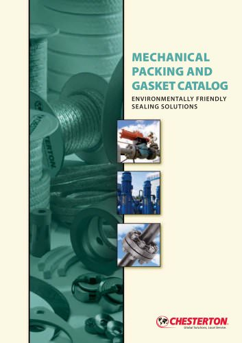 MECHANICAL PACKING AND GASKET CATALOG