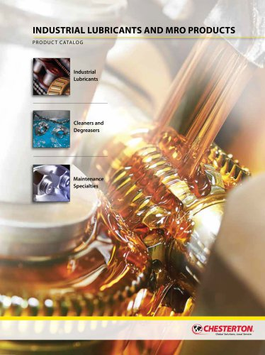 MRO Chemicals - Industrial Lubricants, Cleaners, Metal Working Fluids, and Maintenance Specialties