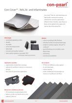 Con-Cover™ - foils, bi- and trilaminates