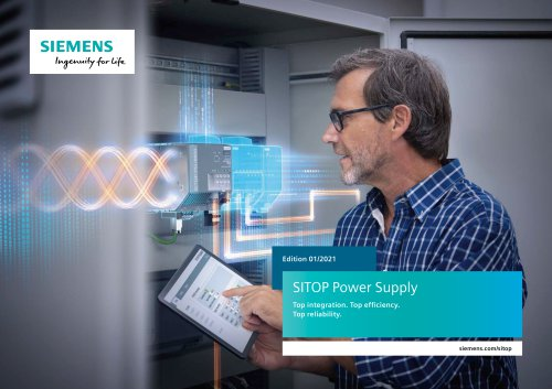 SITOP Power Supply brochure