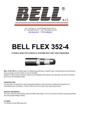 BELL FLEX 352-4