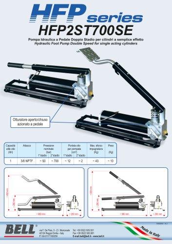 HFP SERIES - Single-effect single stage manual hydraulic pump