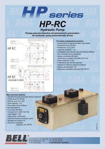 HP SERIES - HPRC - Pneumatic hydropneumatic pump