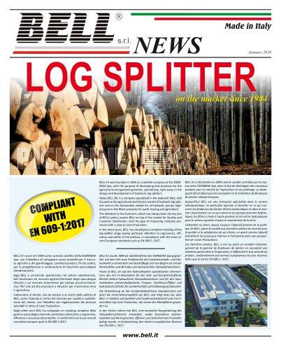 Log-Splitter Catalogue 2020
