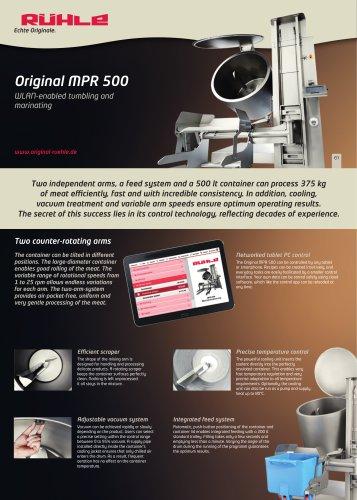 Original MPR 500
