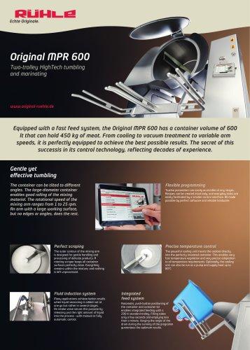Original MPR 600