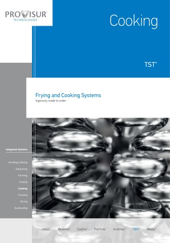 Frying and cooking Systems