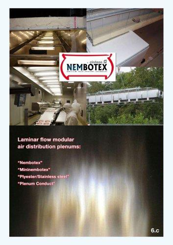 Air distribution plenums NEMBOTEX®