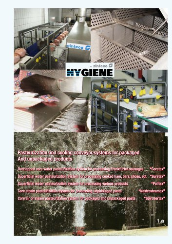 Pasteurization and cooling conveyor systems for packaged And unpackaged products