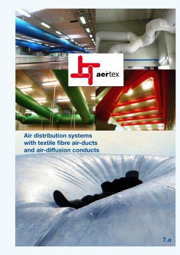 Textile air ducts AERTEX®
