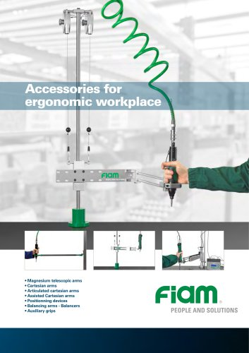 Accessories for ergonomic workplace